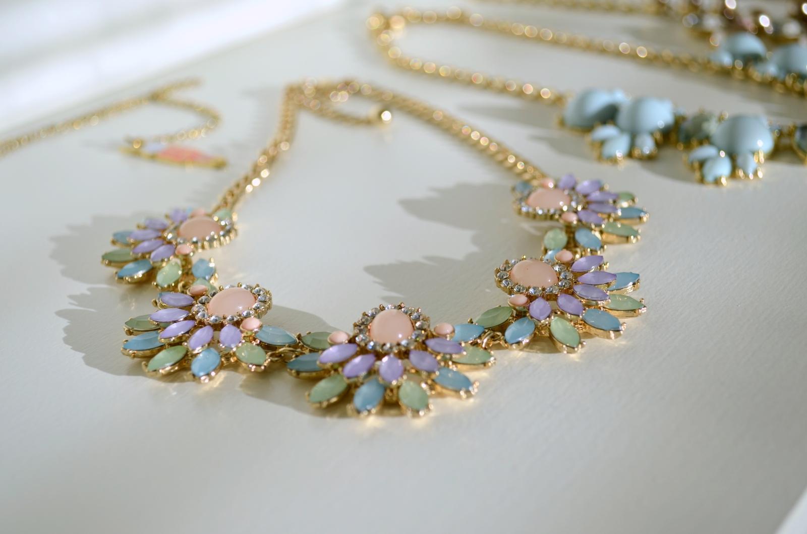 Pastel Multi Necklace 2-2